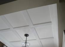 Recessed panel ceiling 2