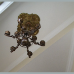 bronze ceiling medallion