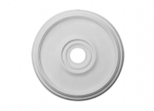 plain ceiling medallion